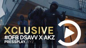 #OFB Dsavv X Akz – No Kidding (Music Video) Prod By Tefoma | Pressplay