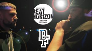 BILZAR VS JONNY STORM | Don't Flop Rap Battle | Beat Horizon Festival