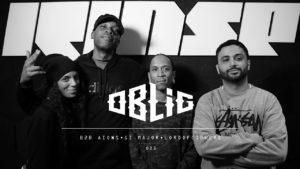 Oblig with with Aions, Gi Major & LordOfCiphers (American Grime) [Rinse FM Freestyle]