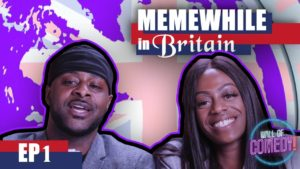 LV & VERY VEE CONFRONT RAPMAN FOR BLUE STORY PT2 😂| MEME WHILE IN BRITAIN | EP1