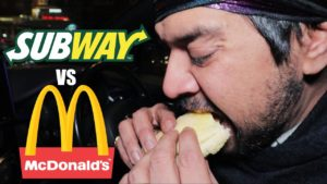 McDonalds Vegetarian Burger VS Subway 'Meatless' Meatball Sub [Science 4 Da Mandem]