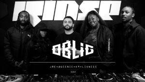 Oblig with JME, K9, Lioness & Queenie | Rinse FM