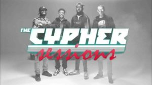 """""""The Cypher Sessions"""" Dj Argue with Ten Dixon, Cally, SBK & Irish Paddy"""