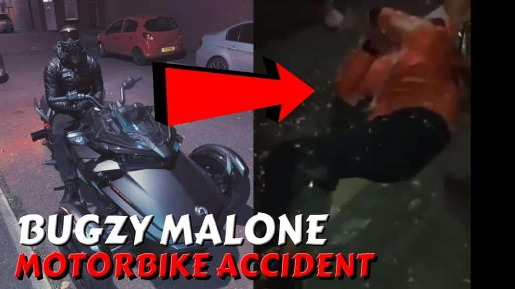 Bugzy Malone Has Had Motorbike Accident #BreakingNews