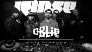 Oblig with Dizzle Kid, Ten Dixon, Face & Vader | Rinse FM