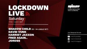 David Vunk | Lockdown Live 002 | Rinse FM