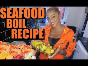 Eat With Paige #3 | Seafood Boil Recipe | JAMROCK EDITION!