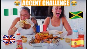 Eat With Paige #4 | Seafood Boil | ACCENT CHALLENGE!