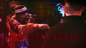 LEFTY VS PRESS1 | Don't Flop Rap Battle