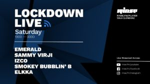 Smokey Bubblin' B | Lockdown Live 001 | Rinse FM