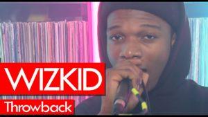 Wizkid 2013 freestyle! Westwood Crib Session Throwback