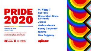 Rinse x Pride 2020