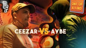 CEEZAR VS AYBE | Don't Flop Rap Battle | One Of A Kind