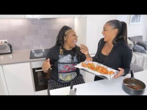 Eat With Paige #6 | Pepper Mouth With Nella Rose |  CONGOLESE EDITION!