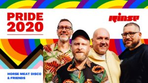 Horse Meat Disco & Friends | PRIDE 2020 | Rinse FM