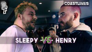 SLEEP (KXVU) VS HENRY | Don't Flop Rap Battle | Coastlines