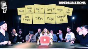 Battle Rap Impersonations | Episode 3 – Craft-D Vs Hulk | Don't Flop TV