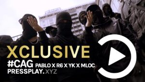 #CAG Pablo x R6 x Yk x Mloc – Target 🇮🇹 (Music Video) | Pressplay