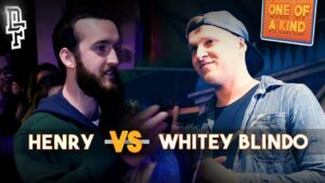HENRY VS WHITEY BLINDO | Don't Flop Rap Battle | One Of A Kind