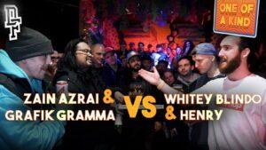 ZAIN AZRAI & GRAFIK GRAMMA VS HENRY & WHITEY BLINDO | Don't Flop Rap Battle