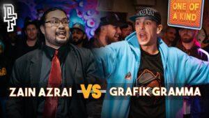 ZAIN AZRAI VS GRAFIK GRAMMA | Don't Flop Rap Battle