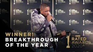 Breakthrough of the Year –  Dutchavelli Winner Speech | Rated Awards 2020
