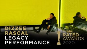 Dizzee Rascal Legacy Winner performance | Rated Awards 2020