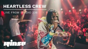 Heartless Crew – Live at Rinse FM End Of Summer BBQ (Studio 338)