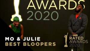 Mo & Julie Best Bloopers | Rated Awards 2020