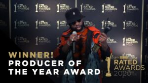 Producer of the Year – JAE5 Winner Speech | Rated Awards 2020