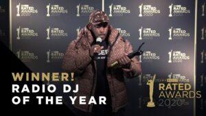 Radio DJ of the Year – Kenny Allstar Winner Speech | Rated Awards 2020