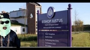 Uncle Rafool pisses off Bishop Justus Church of England School