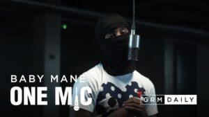 Baby Mane (MaliStrip) – One Mic Freestyle  | GRM Daily