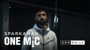 Sparkaman – One Mic Freestyle | GRM Daily
