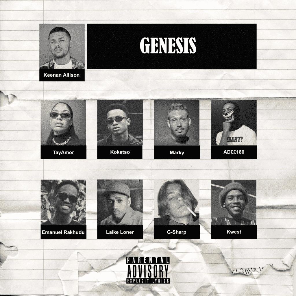 Keenan Allison - Genesis Album Cover