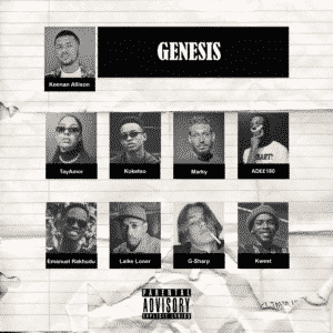 "Keenan Allison releases his project ""Genesis"""