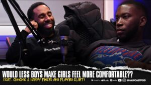 Would LESS Boys Make Girls Feel More Comfortable???    Halfcast Podcast