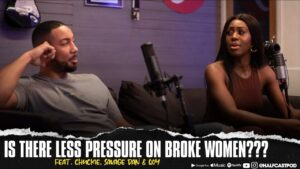 Is there LESS Pressure On Broke Women???    Halfcast Podcast