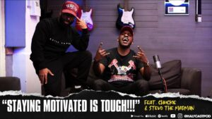 """""""Staying Motivated Is TOUGH!!""""    Halfcast Podcast"""