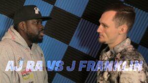 AJ RA VS J FRANKLIN | Don't Flop Rap Battle