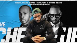 Angel talks writing for Lewis Hamilton & working with Swizz Beatz || The Cheque Up (Clips)
