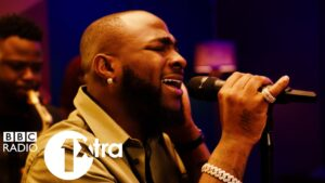 Davido – Jowo in the 1Xtra Live Lounge