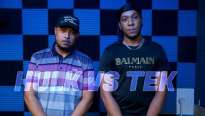 HULK VS TEK | Don't Flop Rap Battle