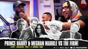 Prince Harry & Meghan Markle vs THE FIRM! || Halfcast Podcast