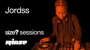 size? sessions: Jordss | International Women's Day on Rinse FM