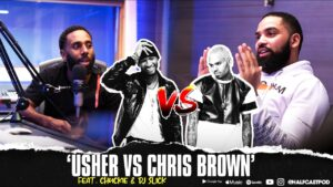 Could CHRIS BROWN Beat USHER???    Halfcast Podcast
