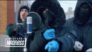 #FTM Kartel x Capz x Niss – B2B Freestyle (Music Video) | @MixtapeMadness
