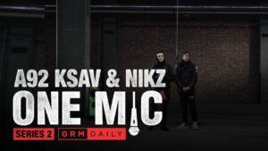 #A92 🇮🇪 Ksav x Nikz – One Mic Freestyle   GRM Daily