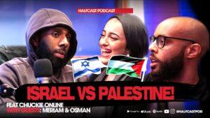 ISRAEL VS PALESTINE    Halfcast Podcast
