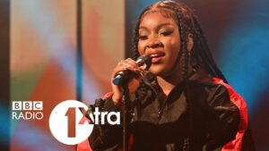 Ray BLK performing What's Goin' On by Marvin Gaye for BBC 1Xtra